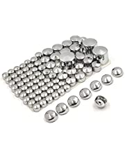 HTTMT MT247-004-CD 87 pieces-Chrome ABS Plastic Bolts Toppers Caps Set Compatible with 2000-2005 2006 Harley Davidson Softail Twin Cam [P/N: MT247-004-CD]