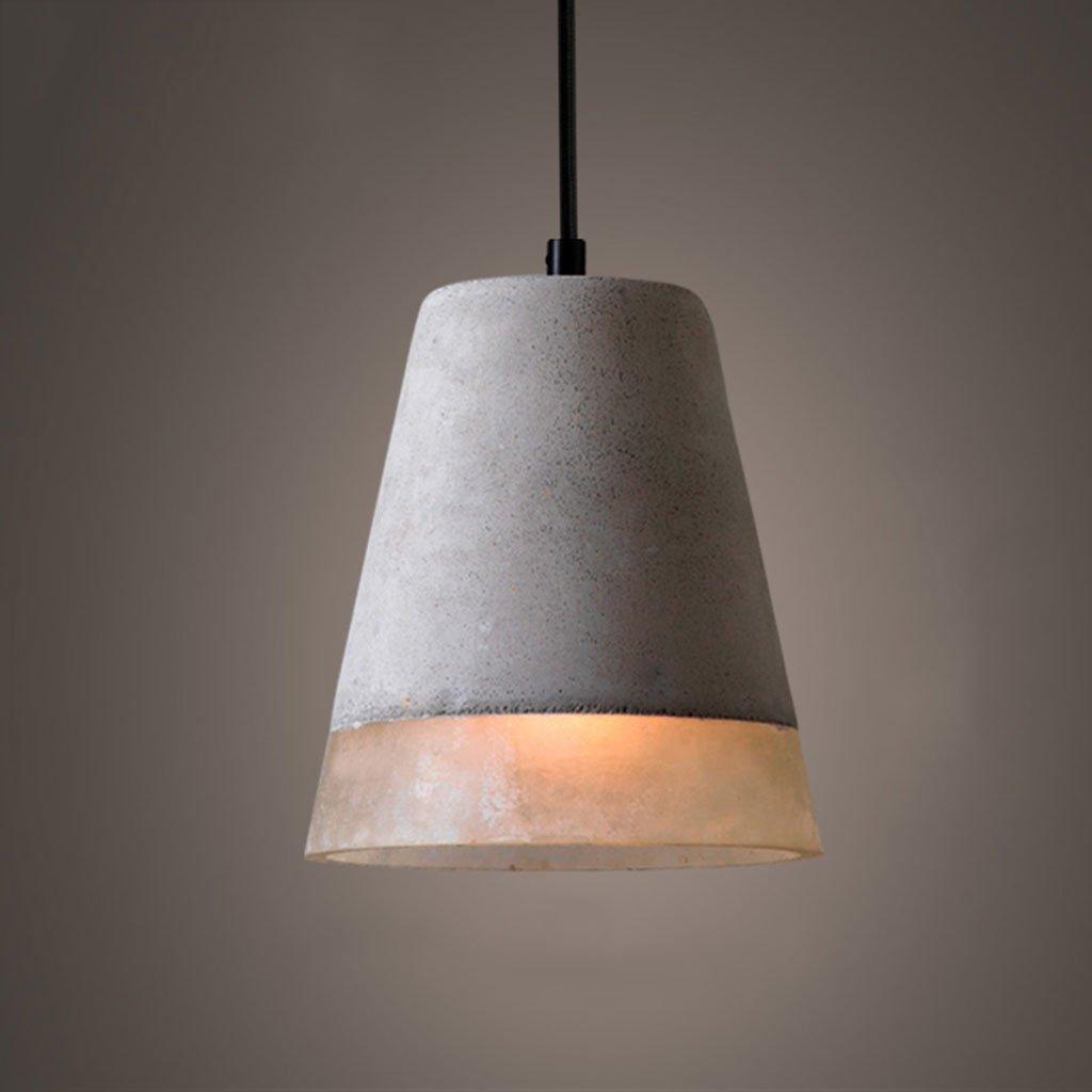 ZYANZ- Industrial Wind Chandelier (E27 Lighting Interface) Creative Personality Retro Cement Lamp Restaurant Bar Lamp