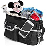 Image of BEST BABY STROLLER ORGANIZER 2017, Fits All Strollers, Premium quality, Extra Storage Space for Diapers, iPhone, Wallets, Toys, clothes, FANTASTIC BABY SHOWER GIFT!!