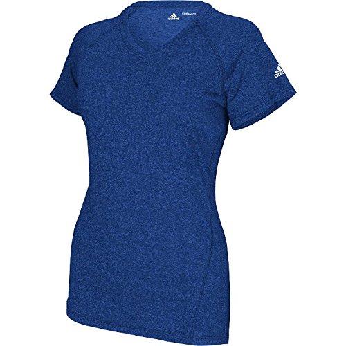 Logo Short Heathrd Shirt Climalite Col Women's adidas Sleeve Ryl SREIIq