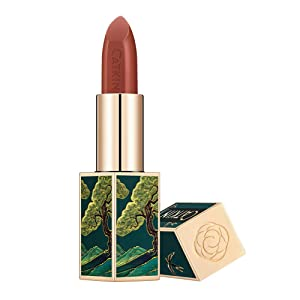 CATKIN Rouge Matte Lipstick, Waterproof Long Lasting Satin Moisturizing Smooth Soft 0.13 Ounce-Chinese Style (CO137)