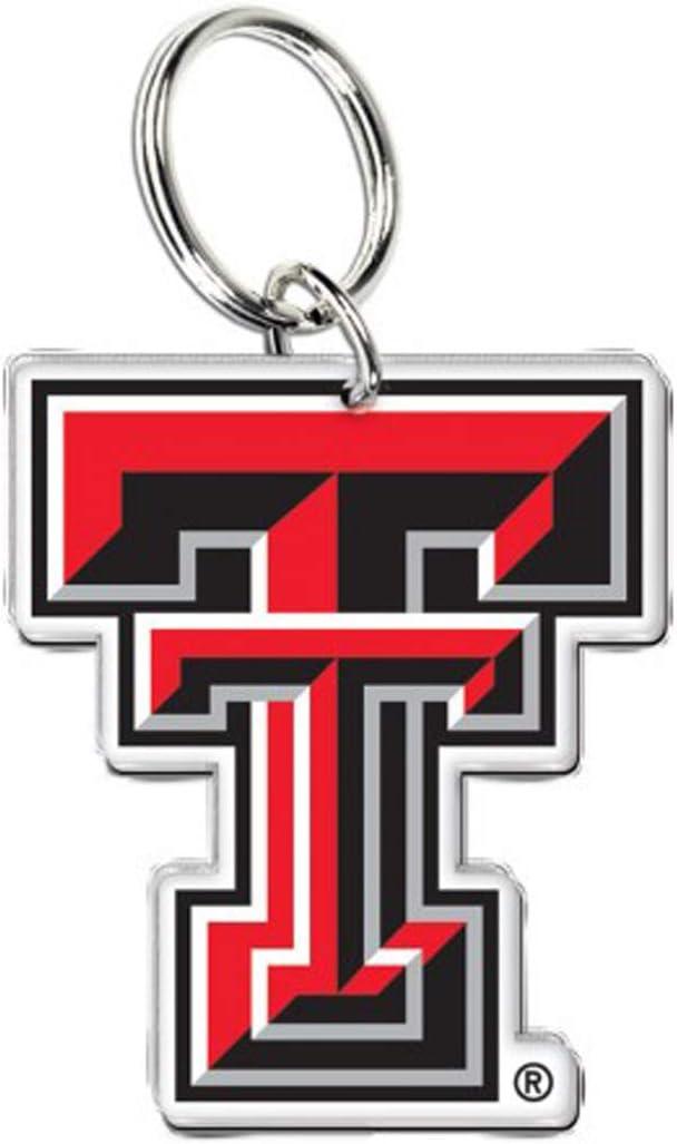 WinCraft Texas Tech Red Raiders Acrylic Key Ring