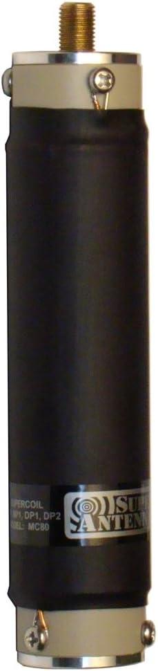 Super Antena MC80 Supercoil 80 my 75 Meter Bobina para MP1 Superstick jamón Radio HF portátil Aficionados Onda Corta