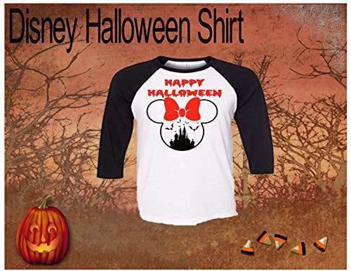 Handmade Disney Halloween Shirt ~ Disney Castle ~ Mickey's Not so Scary Halloween Party