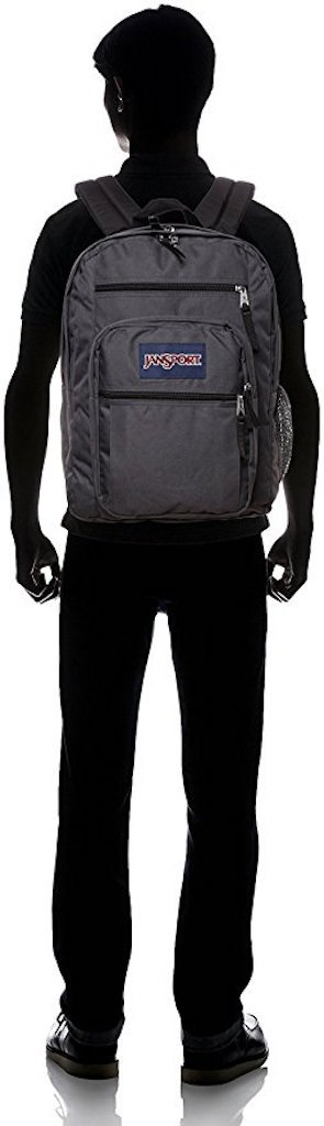 JANSPORT BIG STUDENT BACK BAG (Forge Grey) by JanSport (Image #4)