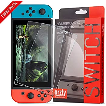Amazon.com: amFilm Nintendo Switch Screen Protector (2