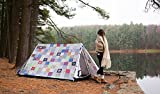 FieldCandy Snug as a Bug Cute Patchwork 2-3 Person Camping Tent
