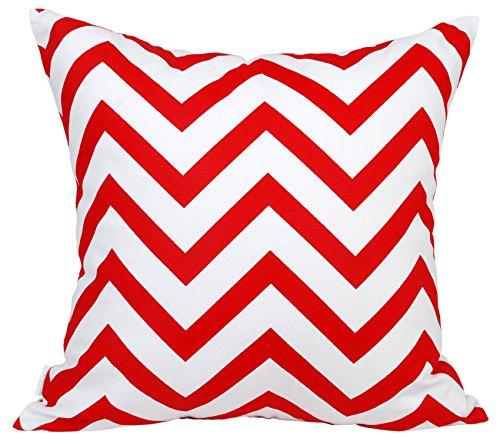 TangDepot Decorative Handmade Zebra-Stripe/Wavy Line 100% Cotton Throw Pillow Covers/Pillow Shams, (24