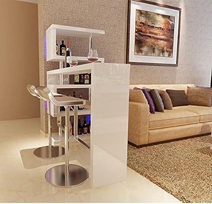 Refroidisseur A Vin Mobilier Salle De Sejour Avec Bar Alcool Coin Meuble Bar Tournant Tables De Bar Amazon Fr Cuisine Maison