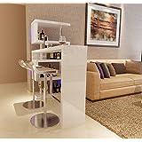 Wine cooler mobili-soggiorno con bar liquore angolo mobile bar rotante Tavoli bar