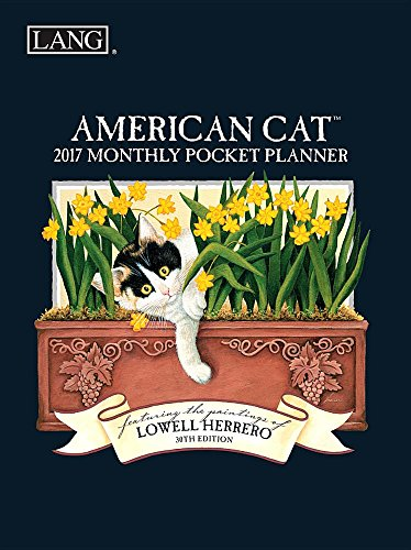 Lowell Herrero American Cat 2017 Monthly Pocket (Lowell Herrero American Cat)