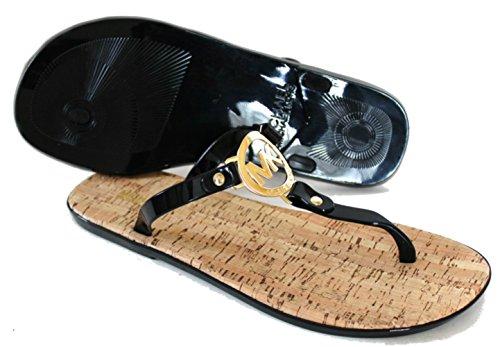 5940b1d1e211 MICHAEL Michael Kors MK Charm Jelly Thong Sandal (6 B(M) US
