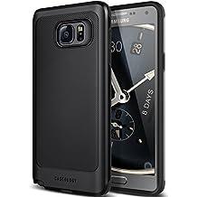 Galaxy Note 5 Case, Caseology [Vault Series] Metallic Mesh Slim Bodyguard [Black] [Hybrid Armor] for Samsung Galaxy Note 5