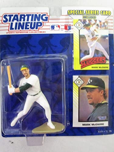 Starting Lineup 1993 Edition Mark McGwire Oakland A 's Athletics
