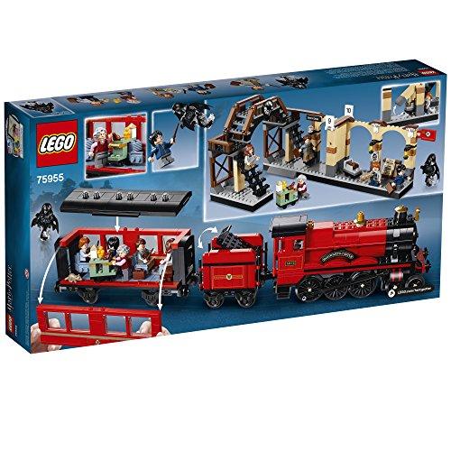 51aZPPEDE%2BL - LEGO Harry Potter Hogwarts Express 75955 Building Kit (801 Pieces)