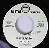pequod 45 RPM leaves of fall / coney island baby