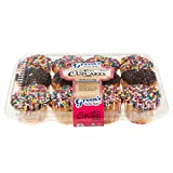 Green's Bakery Assorted Mini Cupcakes Kosher Dessert Treats - 11 oz.