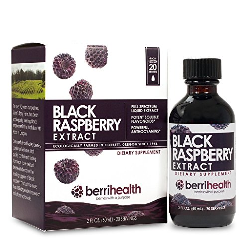 (100% Authentic Oregon Black Raspberry Extract (60mL Liquid))