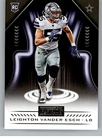 sale retailer c9767 521bd Amazon.com: 2018 Playbook Football #159 Leighton Vander Esch ...