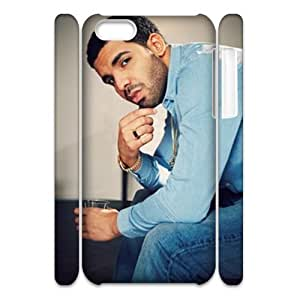 linJUN FENGNewest Diy Drake Apple ipod touch 5 3D Cover Case