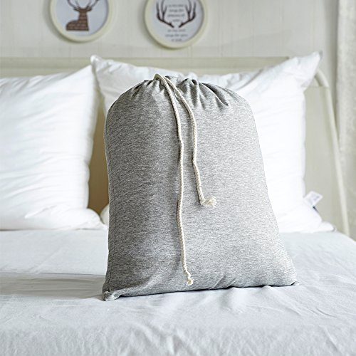 AiMay Duvet Cover Set 3 Piece Bedding Sets 100% Luxury 150g Double Brushed Microfiber With Coconut Button Closure Solid Color Premium Linen Style Ultra Soft More Durable (KING, GRAY) by AiMay (Image #6)