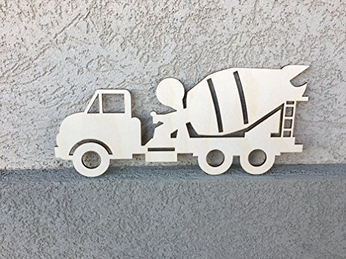 cement-truck-wall-decoration-for-boys-room-11x5-inches-wooden