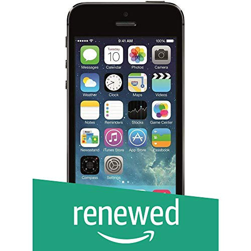 Renewed  Apple iPhone 5s  Space Grey, 16 GB, 1  GB