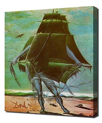 (Salvador Dali The Ship 1935 - Canvas Art Print)