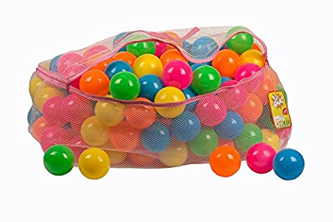 Toysag ball pit 200 pack comes with Storage Bag with Zipper BPA free ball pit balls, crush proof pit balls for kids and ball pits for (Pit For Kids)