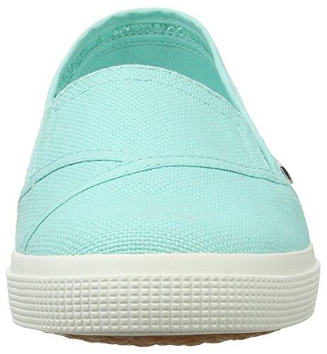 Superga 2210 COTW, Mocassins Femme Blau (Green Aqua)