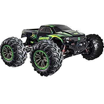 1:10 Scale RC Truck 4×4 | 48+ kmh Pace [30 MPH] Massive Scale Distant Management Automotive | Free Precedence Transport | All Terrain Radio Managed Off Highway Monster Truck for All Ages (Lincoln, NE USA Firm)