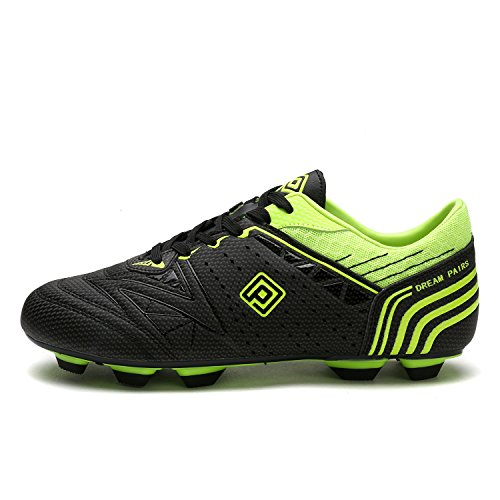 Cleats Neon DREAM Football 160860 Black Green Men's Soccer M PAIRS Shoes qwCpR1wcI