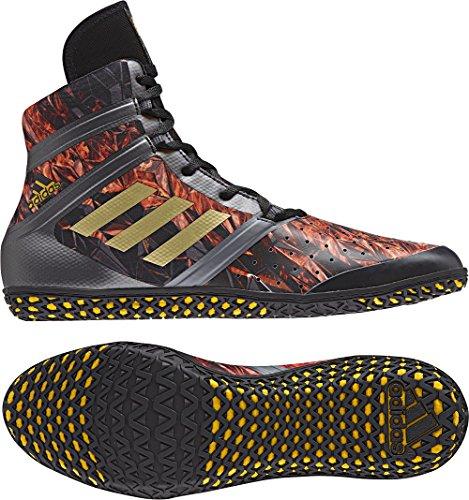 Adidas Impact Wrestling Schuh - Herren Roter Fraktal-Druck