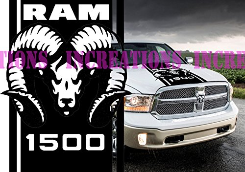 dodge ram decals for trucks hoods - 4