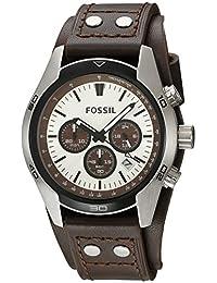 Fossil CH2565 Coachman Chronograph - Reloj, Análogo, Movimiento de Cuarzo, Redondo para Hombre