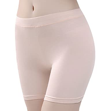de0649002f775 Lady Safety Shorts Modal Safety Pants Cotton Leggings Tights Seamless Underwear  Boy Shorts Under Dress Skirts Yoga Pants Soft Breathable Ultra Thin: ...