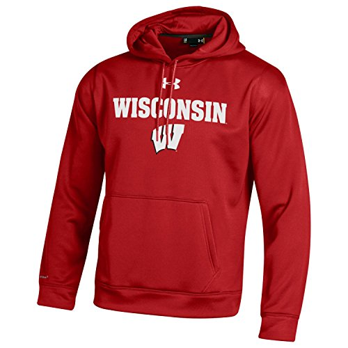 sconsin Badgers Men's Fleece Hoodie, Medium, Flawless ()