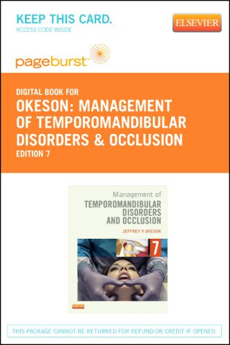 Management of Temporomandibular Disorders and Occlusion - Elsevier eBook on VitalSource (Retail Access Card)