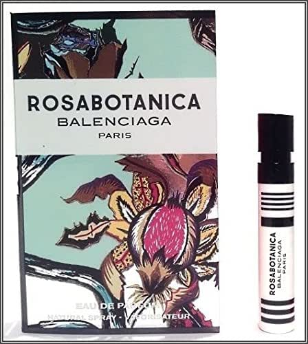 Balenciaga Rosabotanica Sample-Vials For Women, 0.04 oz EDP *Lot Of 2* *Free Name Brand Sample-Vials With Every Order*