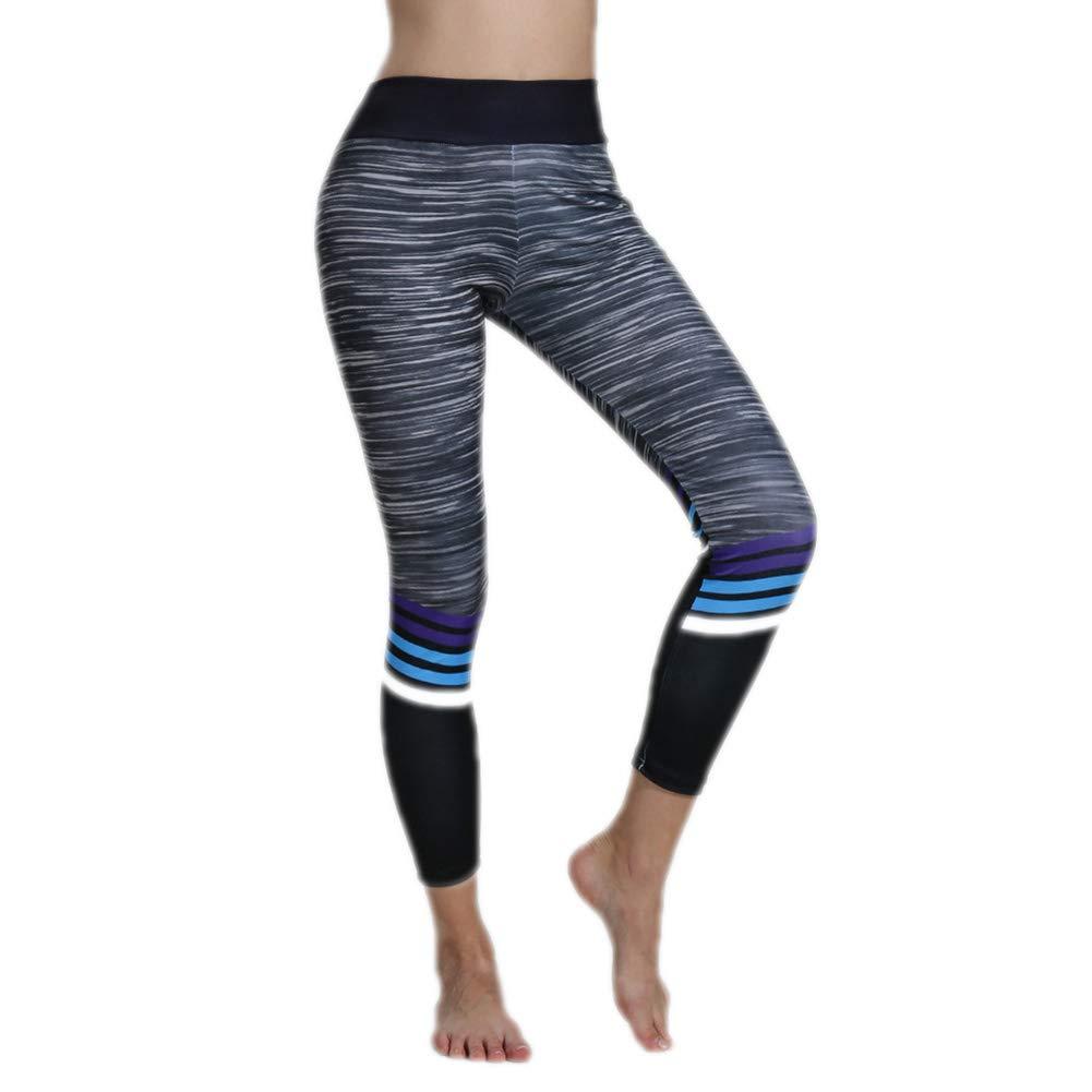 Leisial Elásticos Pantalones de Yoga Leggings Deportivos de ...
