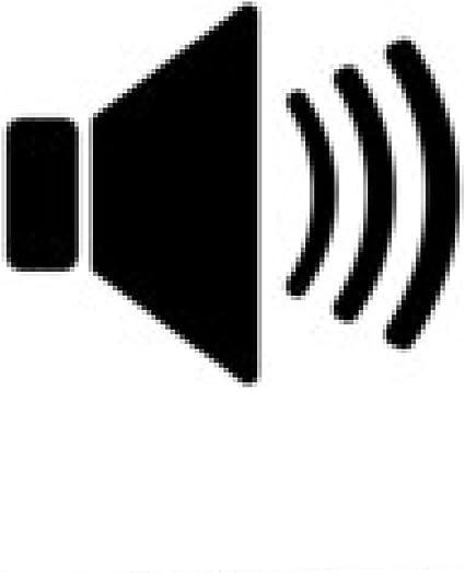 my-puzzle-design tappetino per mouse L'icona dell'altoparlante. simbolo suono. Piatto: Amazon.it: Elettronica