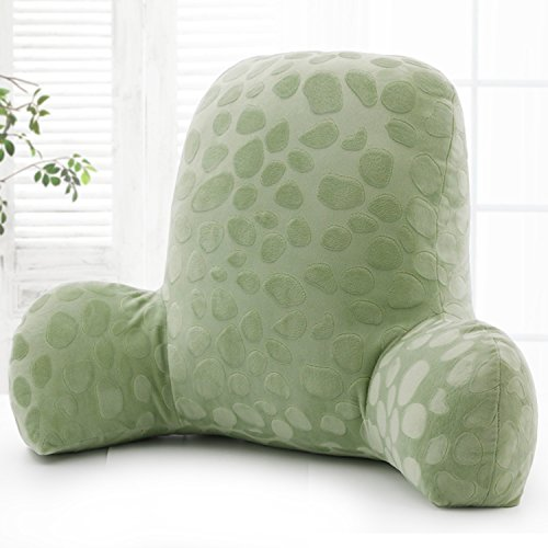 Wwang Embossed plush Reading Pillow - Best Bed