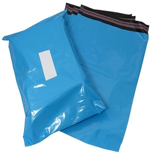 10 azul plástico Polietileno de plástico para envíos ...