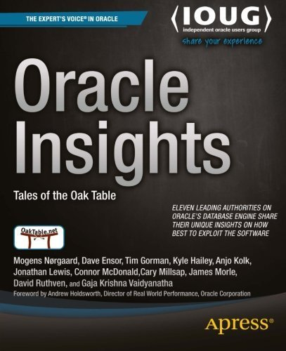 Oracle Insights: Tales of the Oak Table by Dave Ensor (2004-07-28)