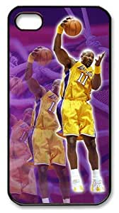 LZHCASE Personalized Protective Case For Samsung Galaxy S5 CoverKarl Malone, NBA Los Angeles Lakers