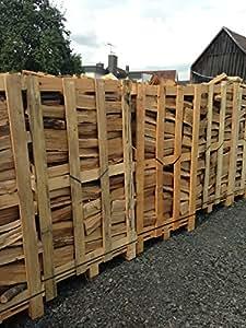800kg de leña para chimenea, madera de haya auténtica, entrega en palés. 25cm de longitud
