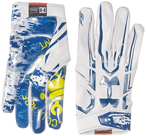 Under Armour Men's F5 – Limited Edition Football Gloves, Aluminum/Aluminum, X-Large