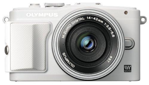 オリンパス ペンライト EPL6 ホワイト レンズキット M.ズイコー デジタルED 1442mm F3.55.6 EZ