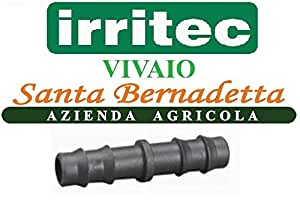 30piezas Unión Manguito Unión para tubos riego de jardín cultivo plantas Racores irrigui