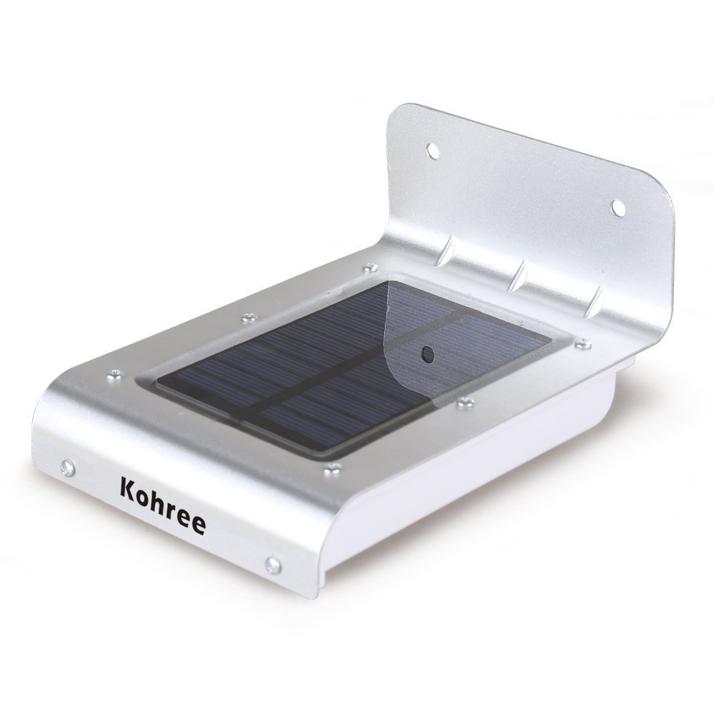 Solar Powered Outdoor Security Dusk To Dawn Motion Sensor